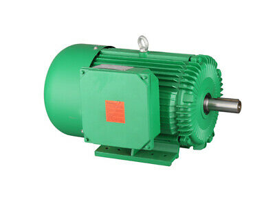 3hp Farm Duty Motor 1-18 Shaft Single Phase 230460v 184t 1725 Rpm Tefc