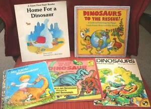 Dinosaurs-Ecology-Berenstain-Marc Brown-Foreman-Planet Earth-bxx