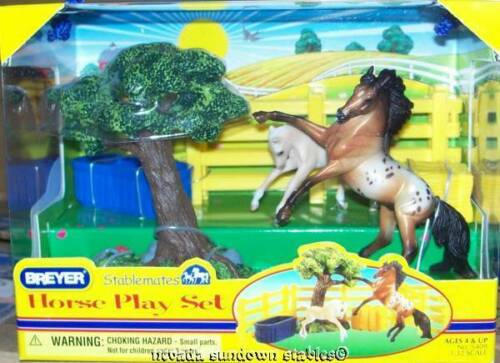 Breyer Collectable Model Horses Stablemate Horse Play Set