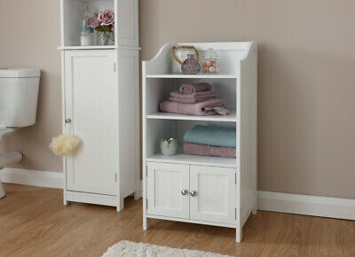 2 Door Classic Shaker (Classic Shaker Style 3 Shelf 2 Door Cupboard available in White or)