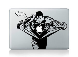 Superman Decal For Macbook Viny Skin Cover for Macbook Air/Pro/Retina 13