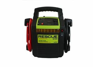 Rescue 2100 12 and 24 Volt Booster Pack