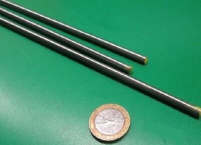 O1 Tool Steel Ground Drill Rod .1800 Dia Drill Size 14 X 3 Ft Length 3 Units
