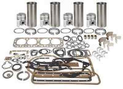Farmall Super M Mta Super W6 Early 400 Engine Overhaul Kit W Metal Head Gasket