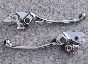 Honda Shadow VT 1100 Valkyrie VTX 1800 ADJUSTABLE CHROME BRAKE & CLUTCH LEVERS