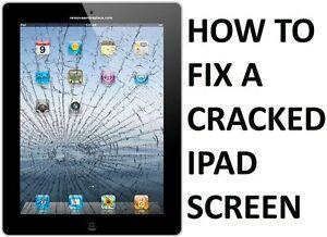 Meilleur Prix ! Réparation Vitre iPad - a Partir de 49$ ! WOW