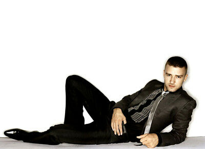 Justin Timberlake UNSIGNED photo - K8065 - SEXY!!!!