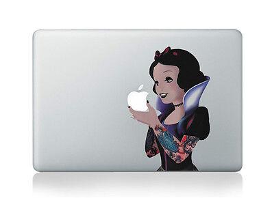 "Snow White Princess Disney Goth Sticker Vinyl Decal Macbook Air/Pro/Retina 13"""