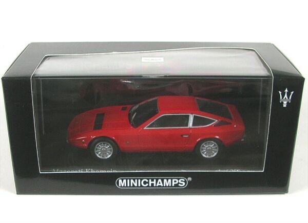 Maserati Khamsin (fuoco rosso) 1977