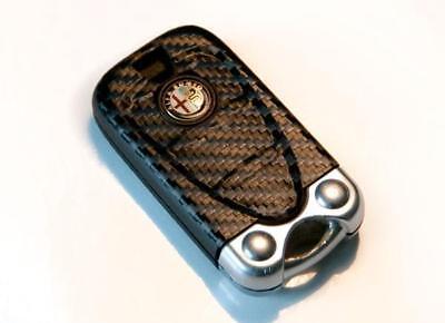 Alfa Romeo Brera 159 156 Q4 Carbon fiber fibre style key sticker