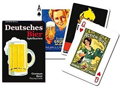 German Bier set of 52 playing cards + jokers (gib)