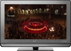 """37"""" Sony Bravia LCD tv fully working with freeview HDMI and remote control can deliver"""