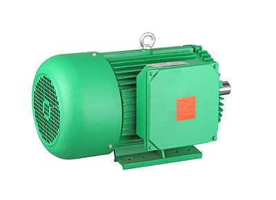 New 3hp Electric Motor Farm Duty 1 18 Shaft 1 Phase 230460v 184t 1725rpm