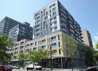 Spacious 2½ condo located in the heart of downtown Montreal (at