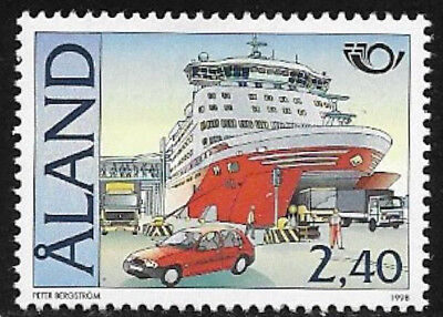 Aland 1998 Shipping, Nordic Ferry, MNH/UNM
