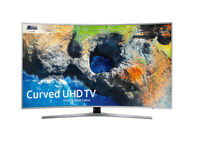 55'' MU6500 Curved Active Crystal Colour Ultra HD HDR Smart TV