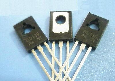 5pcs Bd139 Transistor Npn 1.5a 80v To126 New Ca