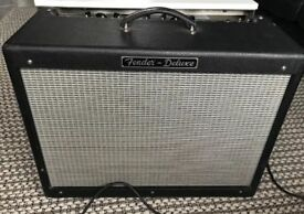Fender USA Hotrod Deluxe 1x12 combo with Reverb hot rod American Twin reverb amp Amplifier