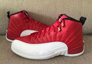 JORDAN 12 GYM RED SIZE 12.5 RARE SIZE DEADSTOCK $300.00 FIRM
