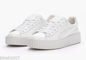 Puma Creepers Rihanna Blanc