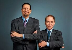Penn and Teller Ticket for Tonight Thursday 22/06/17
