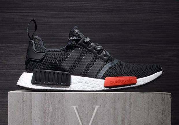 Adidas NMD Footlocker Black Friday Black Red White - US 10 UK 9.5 ... 01ce79498
