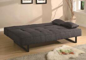 John Lewis Grey Sofa Bed