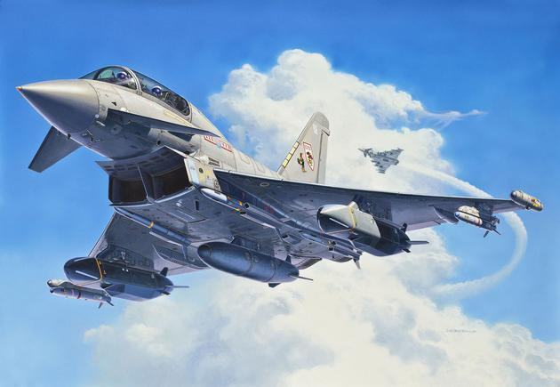 Revell EUROFIGHTER TYPHOON twin-seater 1:48 Revell 04689  X