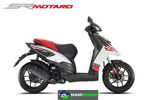 APRILIA SR 50 MOTARD - NEW STOCK - 2 YEAR FACTORY WARRANTY Fulham West Torrens Area Preview