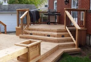 CUSTOM DECKS |  FENCES | SHADE STRUCTURES | BOOKINGS AVAILABLE!!