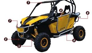 2013/14 CAN AM MAVERICK CROSS PRO FRONT BUMPER!!! now in stoc