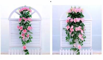 Artificial Rose Flowers Silk Bouquet Bridal Home Wedding Decorati