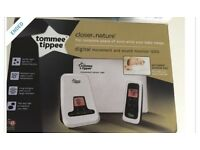 Tommee Tippee Baby Monitor and Movement Sensor Pad