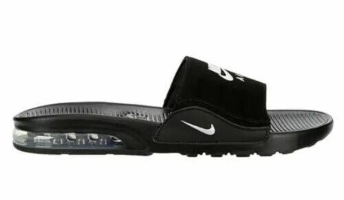 NEW Men's Nike Air Max Camden Slide Sandal -Black /White