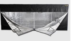"GORILLA HYDROPONIC GROW TENT * 2 Free 16"" wall fans"""