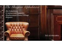 Upholsterer/upholstery/reupholstery/seat repaie