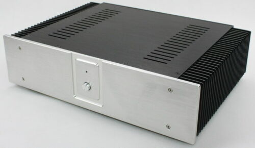 WA60 Amplifier Aluminum Chassis Enclosure Box Case Shell for Audio AMP