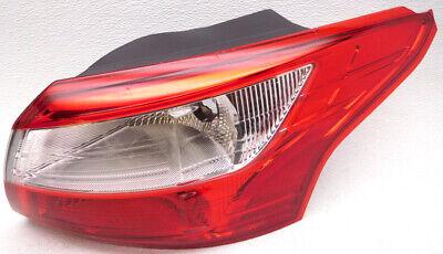 OEM Ford Focus Sedan Right Passenger Side Tail Lamp Lens Chips ()