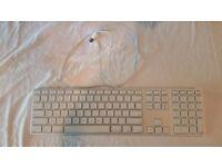 Genuine Apple Keyboard A1243 Ultra Slim Aluminium