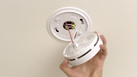 Installation of Hardwired Smoke Detectors -Certified Electrician