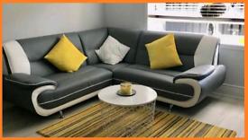 White and grey 🥺 Palmero Corner or 3+2 sofa