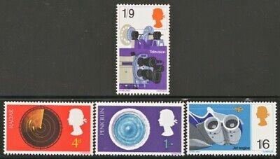 GB MNH Scott 0518-0521, 1967 Discoveries set of 4