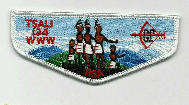 OA Lodge 134 Tsali S32 Flap Daniel Boone Council NC [SMV299]