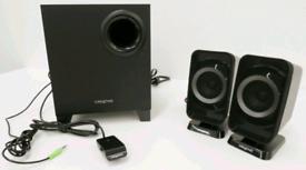Creative 2.1 bluetooth Speaker System.