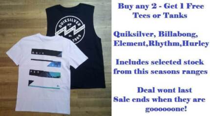 Free Surf Tee or Tank
