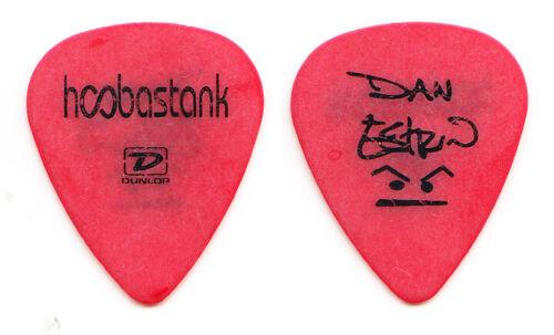 Hoobastank Dan Estrin Signature Red Guitar Pick - 2004 Tour