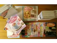 DeAgostini Cake Decorating Magazines Cutters, moulds, stamps, stencils, nozzles & more for baking.