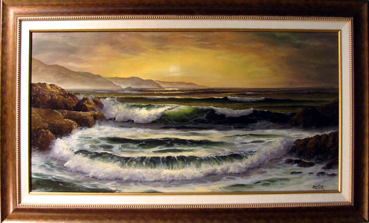 Maurice Meyer Original Oil On Canvas Painting Hand Signed Make An Offer