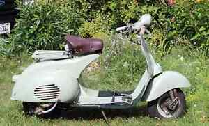 Wanted: 1950s Vespa project