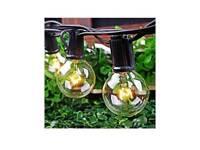Outdoor String Lights, 25ft 30 Bulbs G40 Garden Globe String Lights Waterproof Indoor/Outdoor